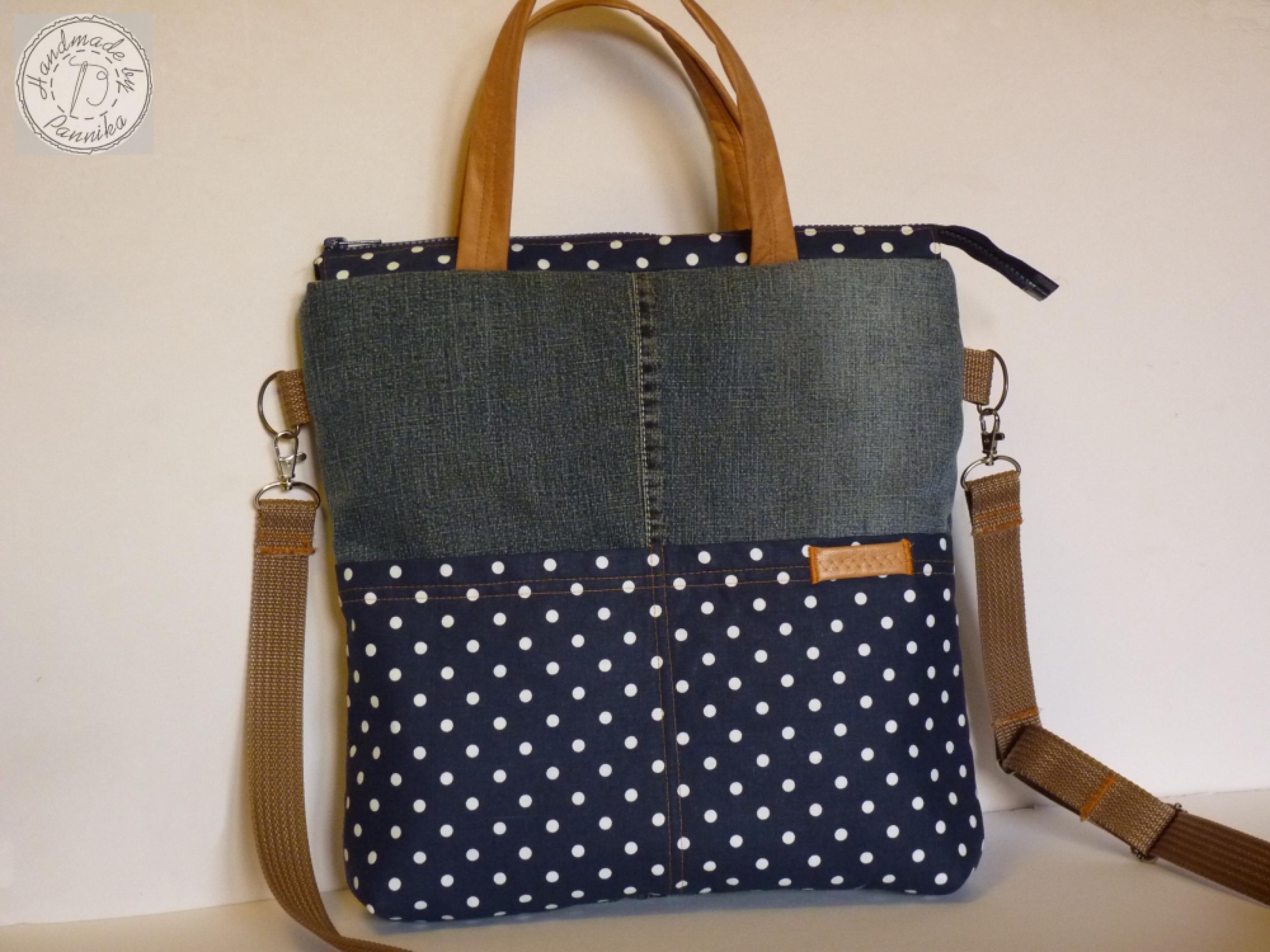 103f4bce1969 XXL Farmer táska, nagy pöttyös zsebekkel - 7 950 Ft *** Egyedi ...